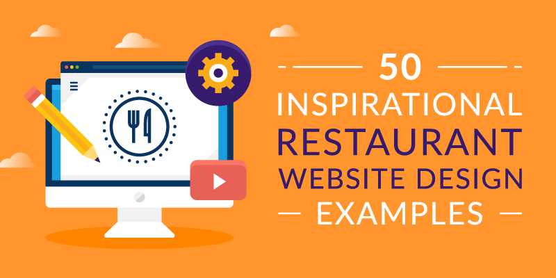 50 Inspirational Restaurant Website Design Examples